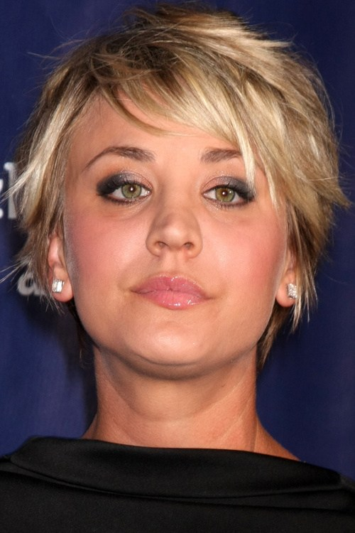 22 short spiky haircut for women with ombre