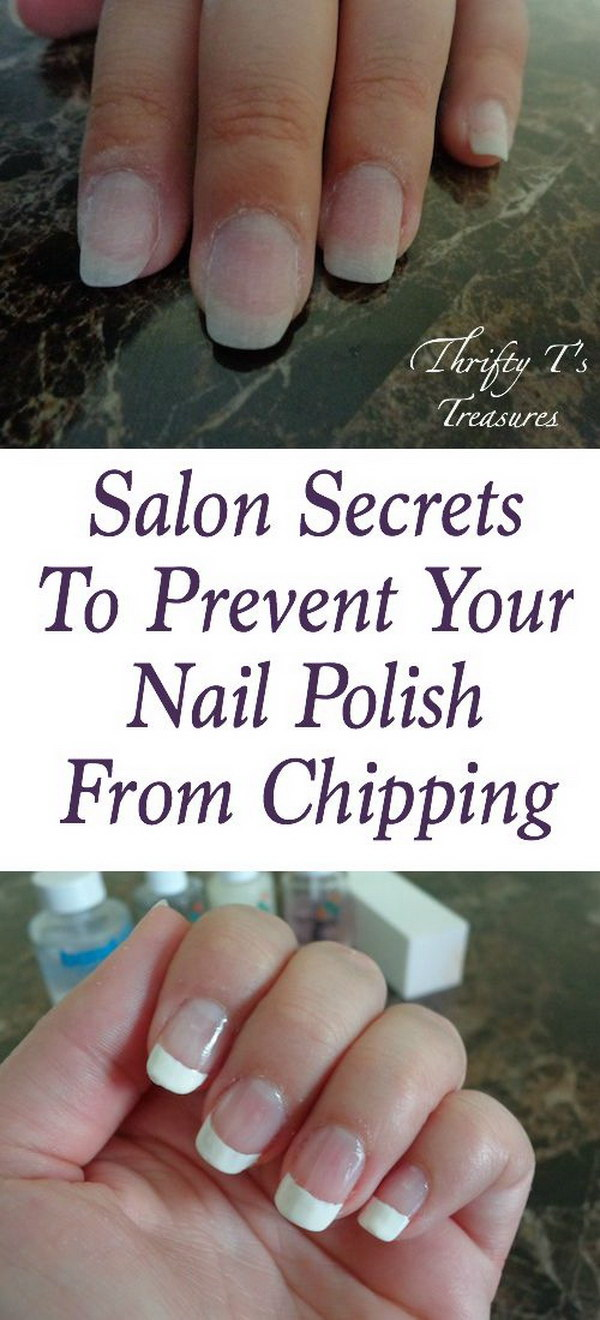 23 Secrets To Prevent Your Nail Polish From Clipping