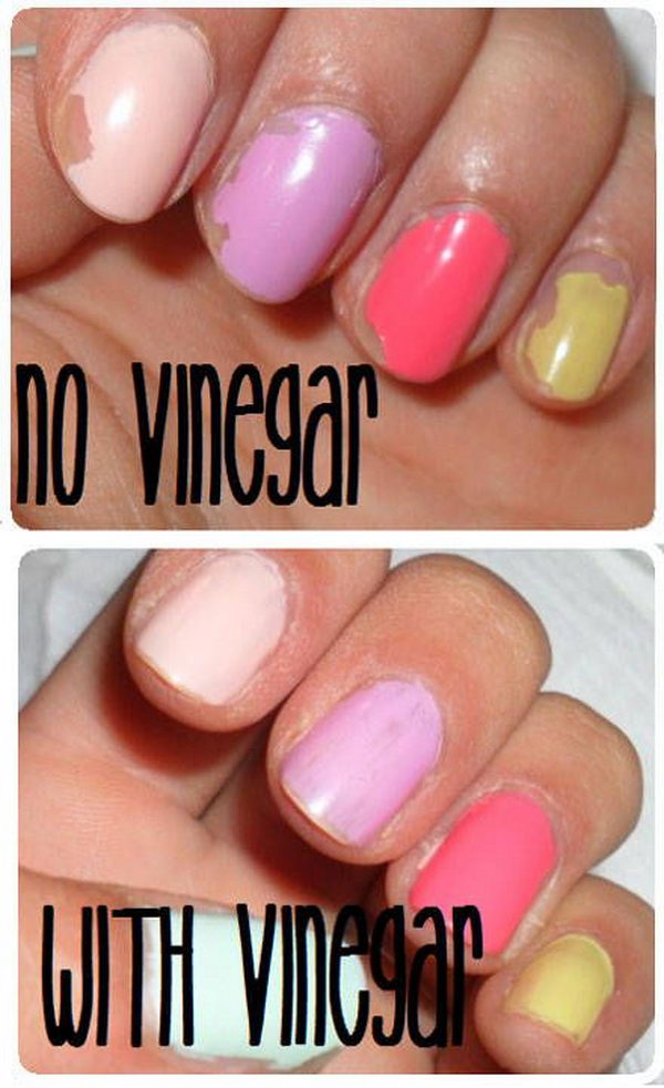24 Get Your Polish to Stay Longer by Wiping Your Nails down with Vinegar Before You Apply Polish