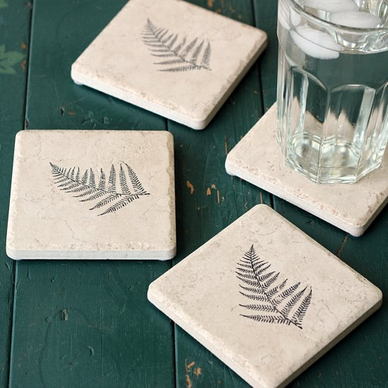 24 Simple coasters from tile