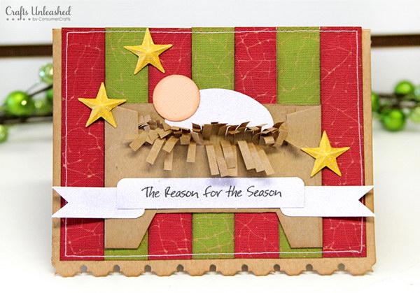 25 DIY Traditional Christmas Card