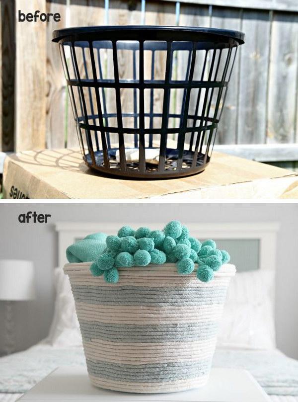 27 DIY Rope Basket