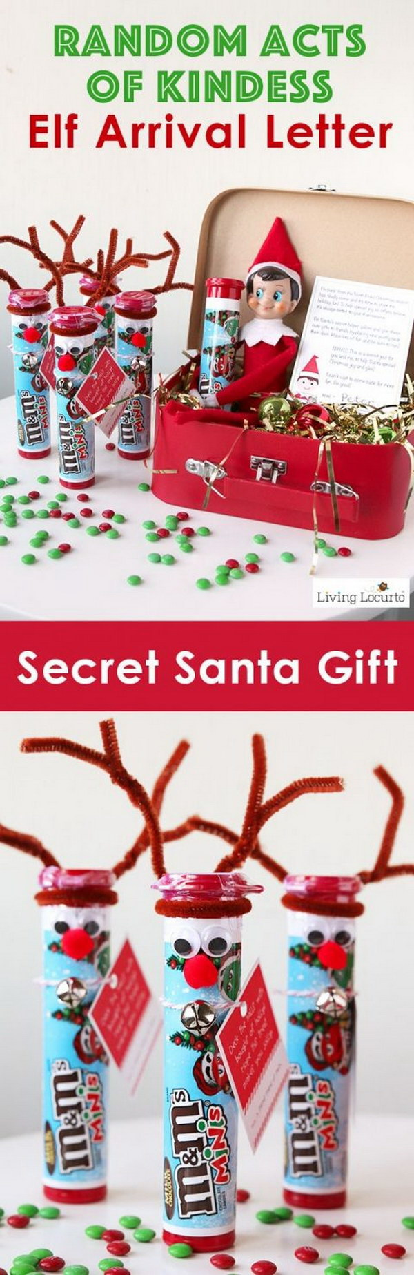 3 DIY Rudolph the Red Nosed Reindeer Candy Gift