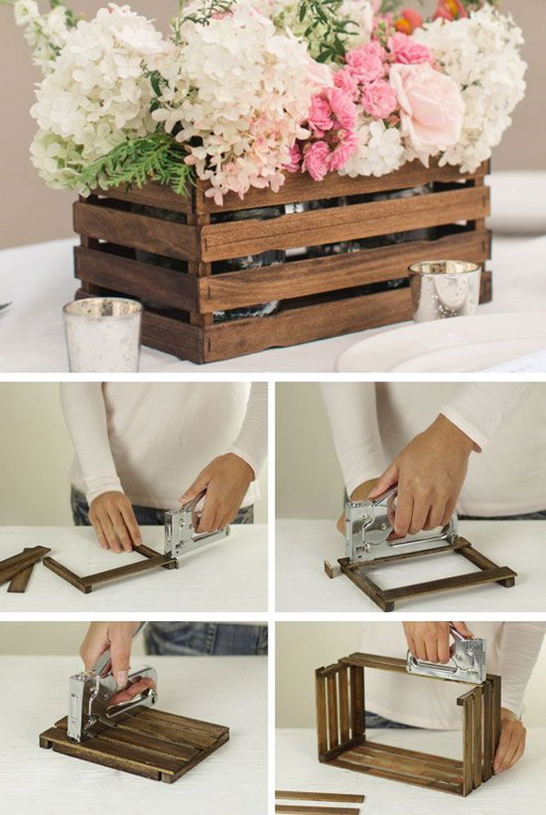 3 DIY Rustic Stick Basket