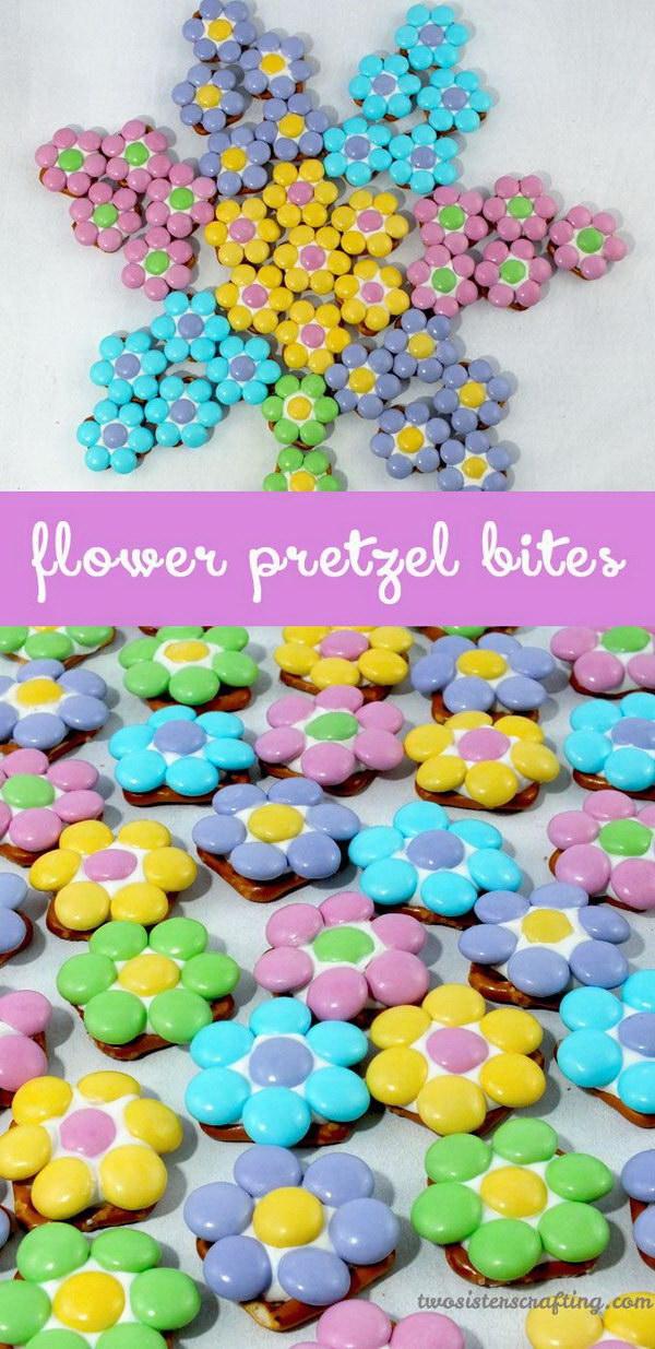3 Flower Pretzel Bites