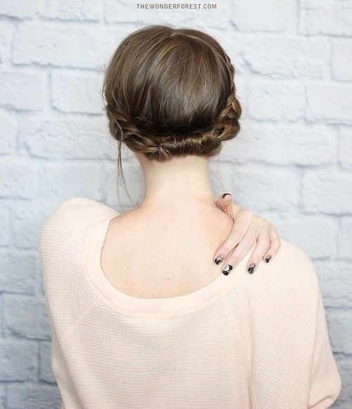 3 concealed braided halo