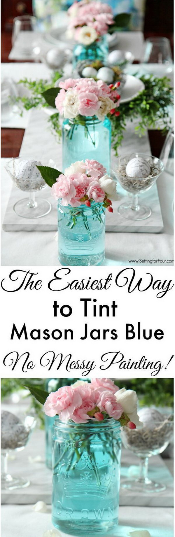 34 DIY Mason Jar Centerpieces