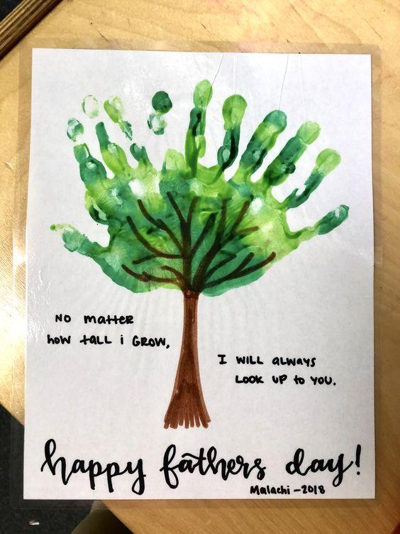 34  hand painting tree