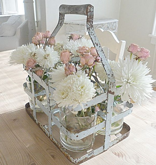 52 awesome shabby chic decor diy ideas projects page for Decoration usine vintage