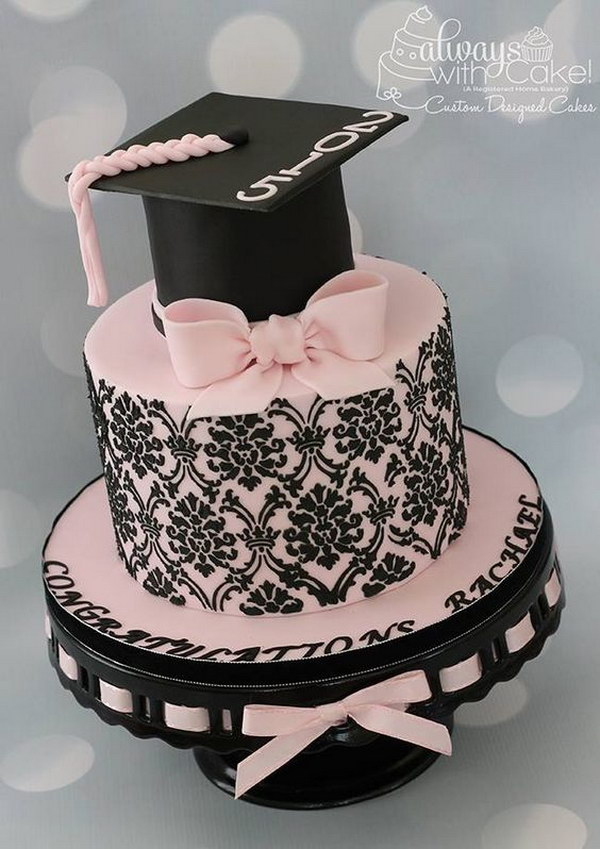 Images Of Graduation Cake : 58 Creative Graduration Party Ideas   Page 36   Foliver blog
