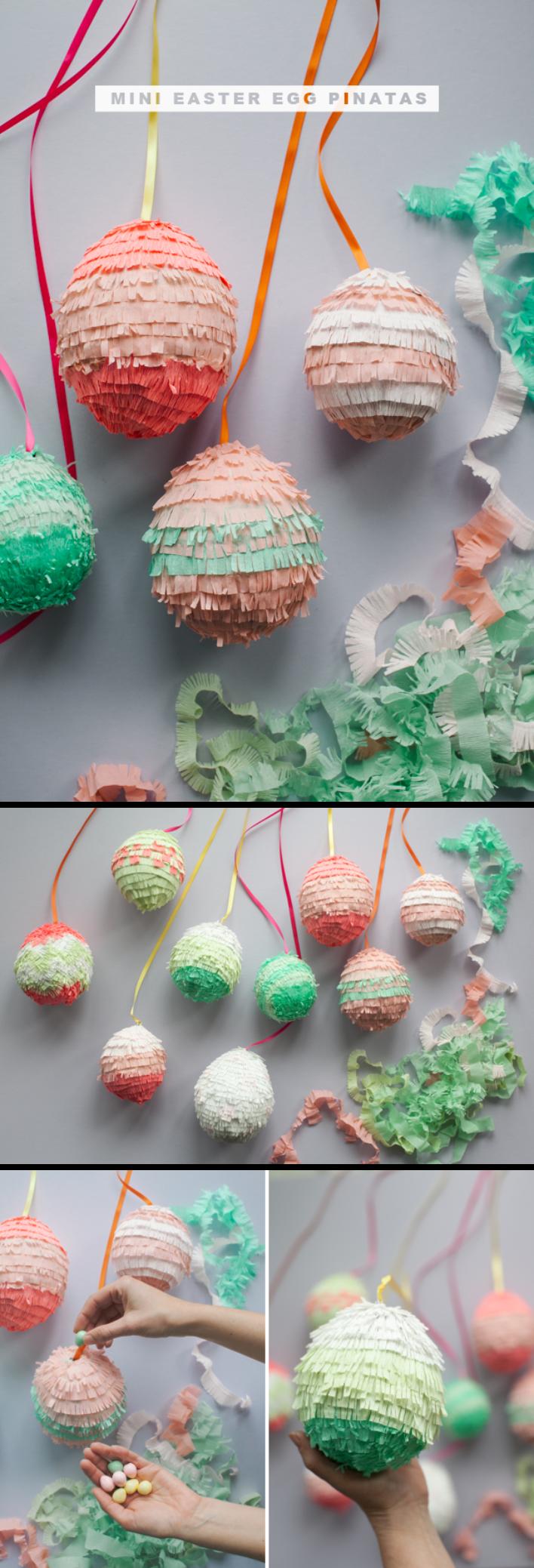 37 DIY Easter Egg Pinatas