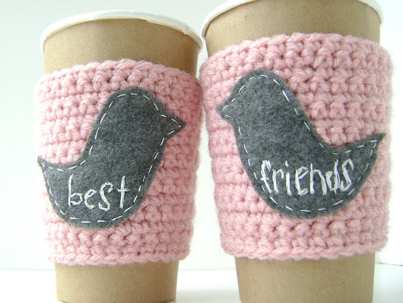 37 Personalized Coffee Cup Cozy For Best Friends