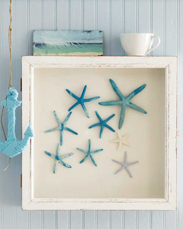 39 DIY Starfish Shadow Box