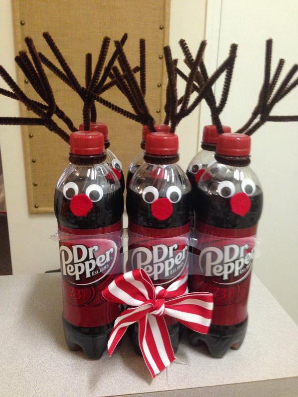 4 Secret Santa Gift – Dr Pepper Reindeer