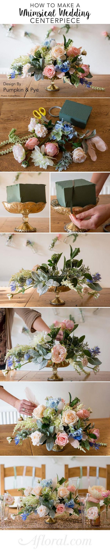 40 DIY Floral Centerpiece