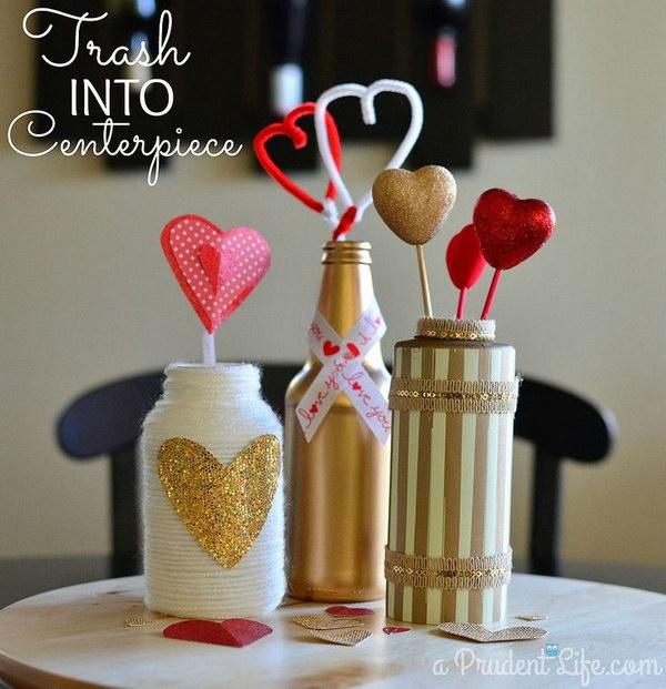 49 DIY Valentine's Day Centerpiece