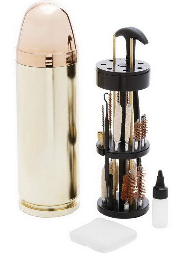 5 Bullet Shaped Gun Cleaning Kit