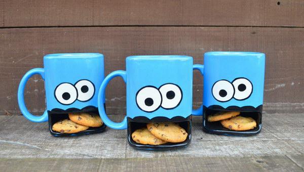 5 Ceramic Milk and Cookies Mug