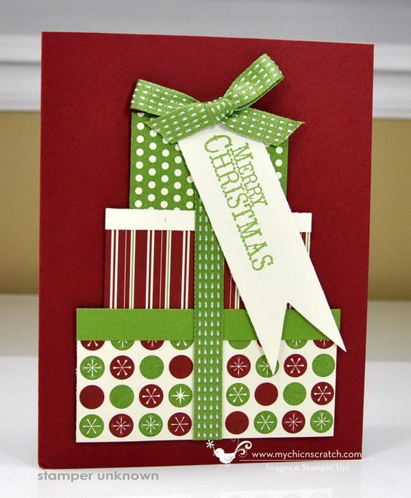 5 Christmas Present Card