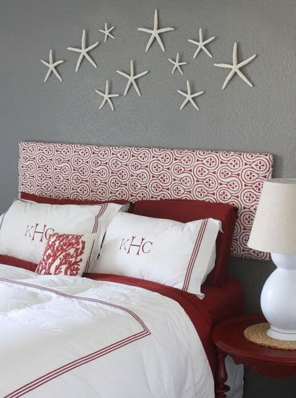 5 Hanging Starfish on the Wall