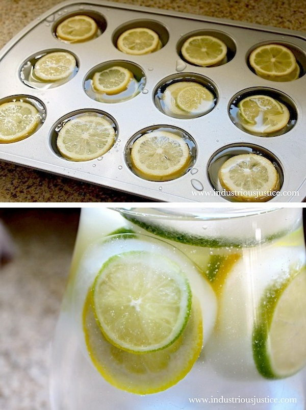 5 Lemon & Lime Ice Cubes