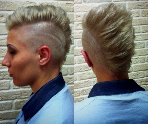 5 mohawk with side designs