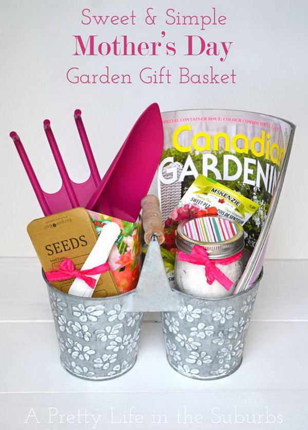 7 Garden Gift Basket