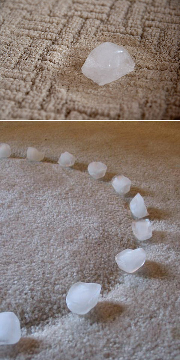 7 Quickly Fix Furniture Dents from Carpet with Ice Cubes