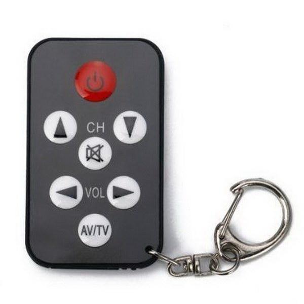7 Universal Mini Keychain TV Remote