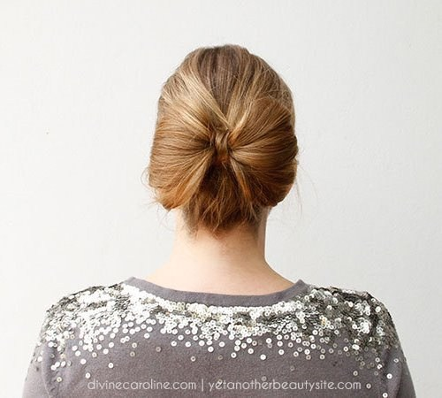 7 bow updo
