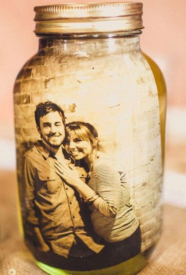8 Picture in a Mason Jar