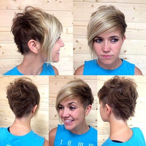 8 pixie with long bangs and side undercuts