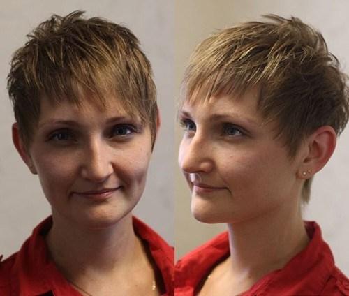 8 short haircut for thin hair