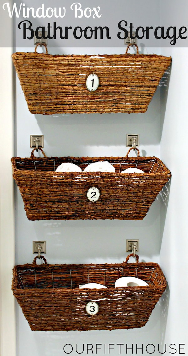 9 Hanging Wicker Window Boxes