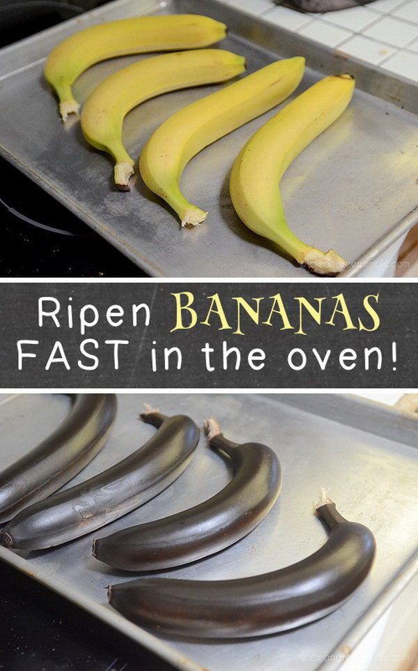9 Ripen Bananas with Oven Quickly