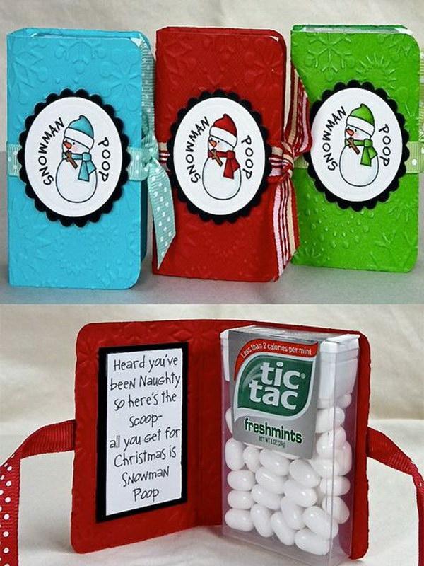 9 Snowman Poop as Christmas Gift