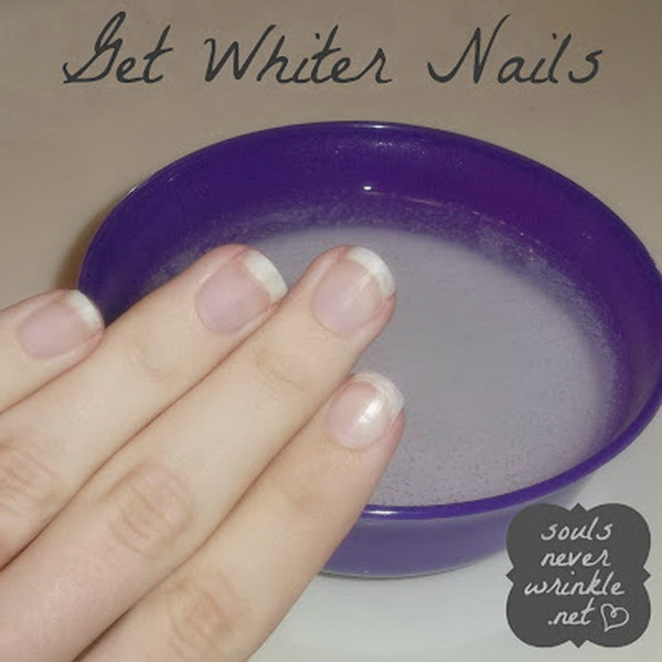 9 Whiten Your Nails after Removing a Dark Polish