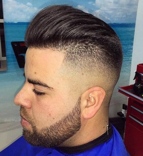 1 long top fade haircut for men