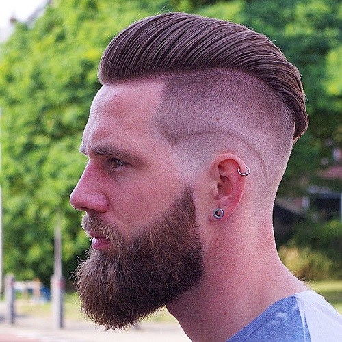 1 lumbersexual hairstyle