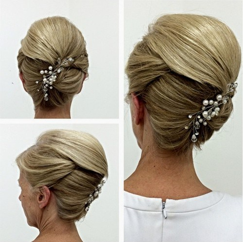 1 mother of the bride updo with a bouffant