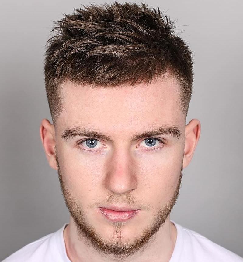1 short spiky mens haircut