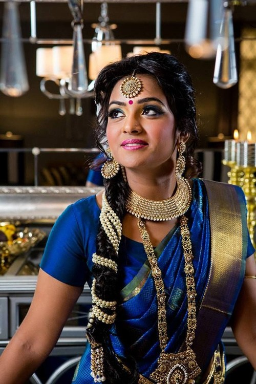1 traditional braided bridal hairstyle