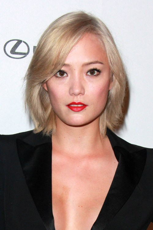 12 asian dyed hairstyle awesome platinum blonde bob