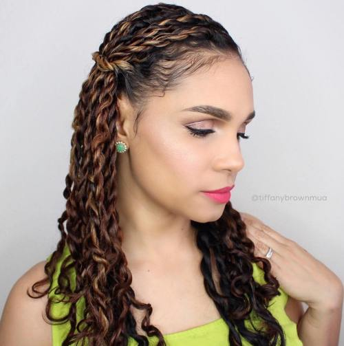40 Chic Twist Hairstyles for Natural Hair – Page 13 – Foliver blog
