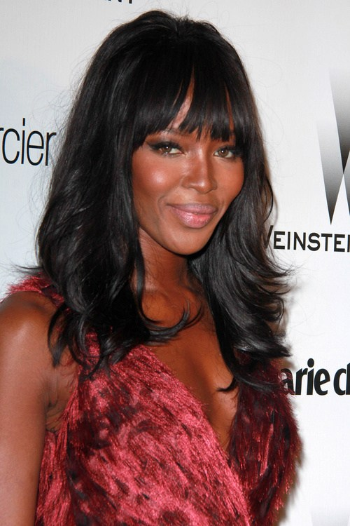 13 long hairstyle with fringe from naomi