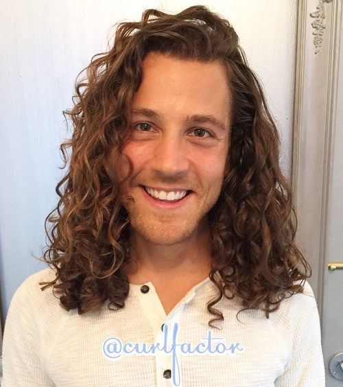 15 long curly mens hairstyle