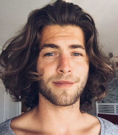 16 medium mens hairstyle for curly hair
