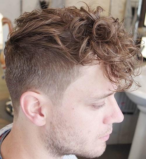 16 mens undercut for curly hair