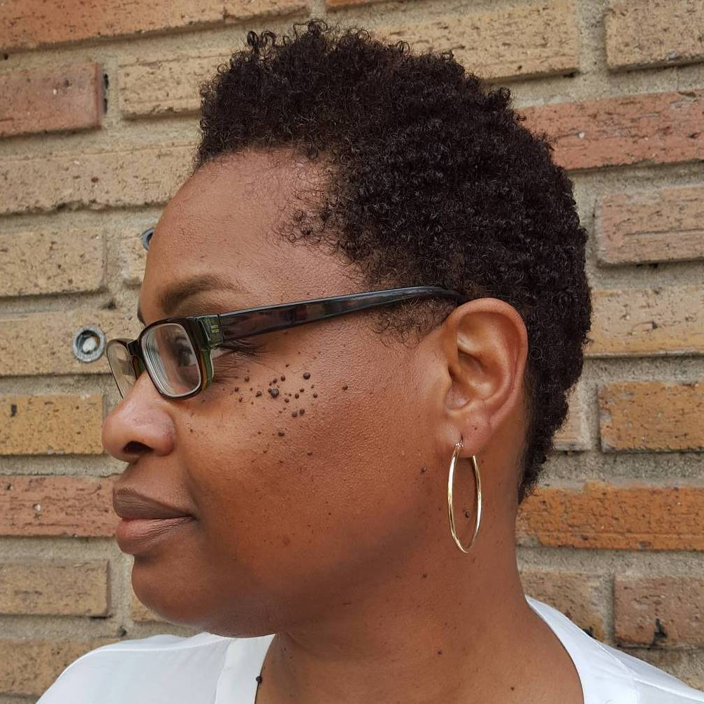 20 cute tapered natural hairstyles for african hair  page