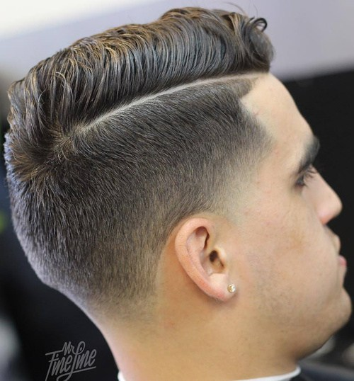 40 Ritzy Shaved Sides Hairstyles And Haircuts For Men Page 20 Foliver Blog